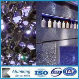 Décoration murale plaque panneaux de mousse en aluminium