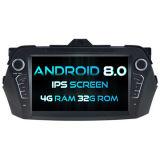 Witson oito core Android Market 8.0 aluguer de DVD para Suzuki Ciaz 2016 4G ROM Ecrã Táctil 1080P 32GB ROM ecrã IPS