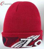 Новая конструкция трикотажные Beanie Red Hat с хлопок (6505909000)