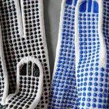Guante de algodón con puntos de PVC
