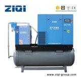 Compresor de aire de tornillo de 3.7kw compacto