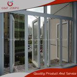 Enduit d'alimentation double couche de profil en aluminium de verre des fenêtres à battants