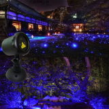 De blauwe OpenluchtLaser van de Tuin van de Projectoren van de Laser Populaire