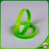 Braccialetto poco costoso del silicone dell'OEM Debossed del Wristband del silicone delle fasce di manopola di prezzi