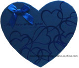 Dozen van het Suikergoed van de Vorm van het hart de Goedkope Buitensporige voor de Dag van de Valentijnskaart van de Gift, de Doos van de Chocolade van de Doos van de Gift van de Verpakking van het Huwelijk van de Vorm van het Hart