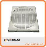 Filtro del ventilador de la ventilación usado en el ventilador axial Spfa9806