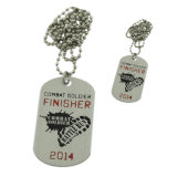 Promotional Cheap Printed Metal Dog Tag (SDR--009)
