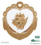 Moneta commemorativa dello smalto molle di figura del cuore