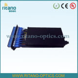 Vassoio ottico della fibra di MPO/MTP