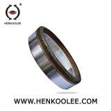 Roda de moedura abrasiva personalizada alta qualidade do ferro do tamanho para o vidro