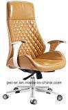 Стул менеджера задачи управленческого офиса самомоднейшего шарнирного соединения деревянный кожаный (A2014-1)