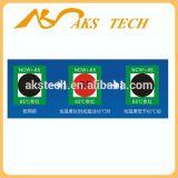 Umschaltbare Temperatur und Farben-Änderungs-Aufkleber für industriellen Gebrauch