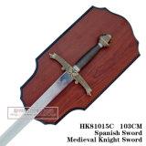 オオカミの剣の中世剣の装飾の剣105cm HK81015c