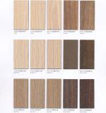 Impermeable resistente a arañazos 0.5-1.2mm de HPL decorativos hojas/laminado de alta presión HPL Las puertas de madera veteada /