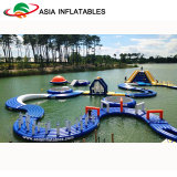 Kommerzieller grosser aufblasbarer Wasser-Park, aufblasbarer Aqua-Park für Wasser-Spiel, Spiel im Wasser-Park-Gerät