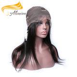 заводская цена OEM женщина полностью кружевной Wig черного цвета