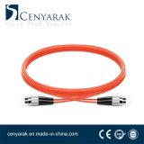 Duplex de 3 metros de cable de fibra óptica multimodo (50/125) FC FC