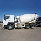 工場9cbm自動具体的なミキサーのトラック/乳鉢ミキサー