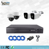 HD de 5 MP WDR 4 Canais kits de câmaras IP POE