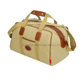 長い週末旅行のためのメンズ余暇のキャンバスのDuffle袋