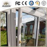 Porte en plastique d'inclinaison et de spire de mode d'usine de fibre de verre bon marché neuve des prix avec le gril à l'intérieur