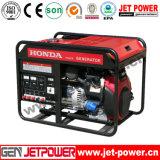 15HPエンジンによって7kwはハンドルの車輪が付いている使用のガソリン発電機が家へ帰る
