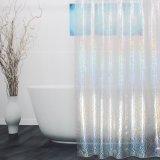 Badezimmer EVA-Duschvorhang des Effekt-3D mit Hochleistungsmagneten