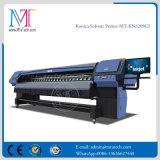 2017년 Mt 최신 잉크 제트 큰 체재 잉크젯 프린터 디지털 용해력이 있는 인쇄 기계