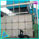 Depósito de recipientes para armazenamento de água de plástico reforçado por fibra