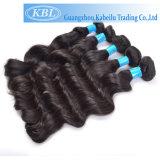 cheveu brésilien de Vierge d'onde du corps 5A, couleur normale pour la vente en gros