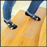 Clair et noir anti-patinage de la sécurité de la voie de l'escalier bande antidérapante