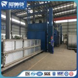 صنع وفقا لطلب الزّبون مصنع مسحوق يكسو لون زرقاء ألومنيوم بثق لأنّ بناء