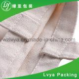 Saco natural biodegradável novo da lona do algodão
