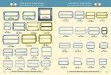 Inarcamento in lega di zinco del regolatore della cinghia del metallo per il sacchetto