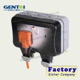 スイッチが付いている熱い販売法IP66の屋外の防水ソケット