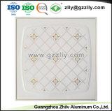 SGSが付いているアルミニウム天井のタイルクリップの耐火性の音響は修飾した