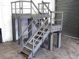 El FRP Sistemas de pasamanos de escalera, anchos de vía, los racores de baranda de la plataforma de rejilla moldeada