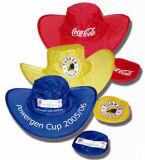Custom pop up de sports de promotion de nylon pliable Cap Hat