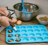Heet verkoop Vorm 24 van de Cake de Pan van de Muffin van het Silicone van Holten