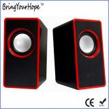 Guter Preis 2.0 Wechselstrom-Plastikcomputer-Lautsprecher (XH-PS-216)
