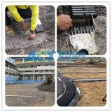 HDPE 인공적인 잔디 토양 기초를 위한 편평한 디자인 배수장치 관