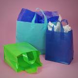 LDPE-weiche Schleifen-Griff-Mehrzwecktaschen, Einkaufstasche, Geschenk-Beutel (HF-619)