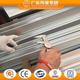 슬라이딩 윈도우를 위한 Weiye 알루미늄 또는 Aluminio 또는 알루미늄 밀어남 구렁 디딤대