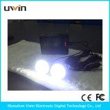 Kits Solares domésticos con luz LED y cable USB y un panel solar