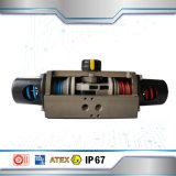 Válvulas de borboleta do fabricante de China com atuador pneumático