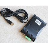 Programa de lectura de escritorio negro de la frecuencia ultraelevada RFID del interfaz del USB para la tarjeta de la frecuencia ultraelevada RFID