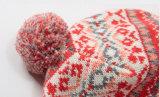 Шлем авиатора лыжи грелки уха Earflap Beanie зимы девушок детей малышей теплый связанный напольный (HW635)