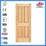 Экстерьер/Interior Деревянное Door Конструкции с Nature Veneer (JHK-004P)