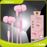 Accesorio cómodo del teléfono móvil que desgasta en receptor de cabeza estéreo del auricular del oído