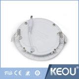 Blanco Marco Ce/RoHS Embedded baixar as luzes do painel de LED por grosso